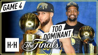 Stephen Curry & Kevin Durant Full Game 4 Highlights vs Cavaliers 2018 NBA Finals - CHAMPIONS!