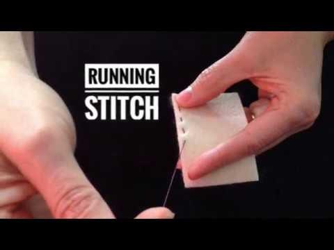 Hand Stitching Basics - Part 1