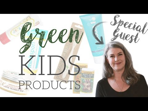 Eco Friendly Kid's Sunscreen & Care Products