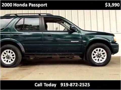 2000 Honda Passport Used Cars Raleigh NC