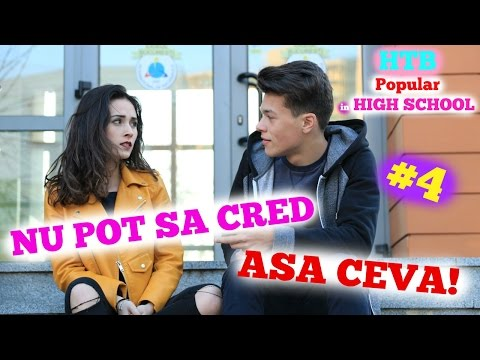 NU POT SA CRED! | HTB POPULAR IN HIGH SCHOOL | S2 EP4