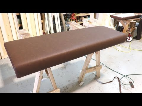 HOW TO UPHOLSTER A SEAT BENCH - ALO Upholstery