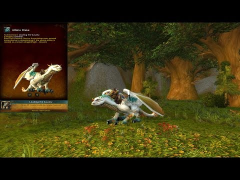 World of Warcraft - Mount Spotlight, Albino Drake #5