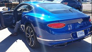 2020 Bentley Continental GT Mulliner W12 AWD