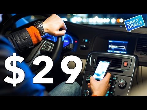 $28 Best Bluetooth Car Kit Music Streaming ► The Deal Guy