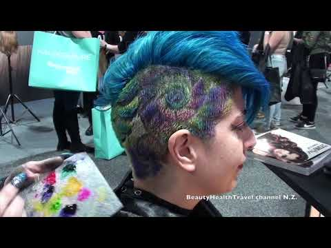 Hair painting with Brush