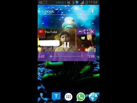 How to watch video and work? Multitasking on any Android!