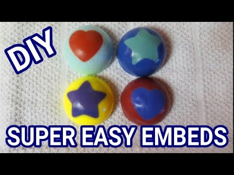 DIY HOW TO FAKE EMBEDS IN SOAP - SUPER EASY TUTORIAL