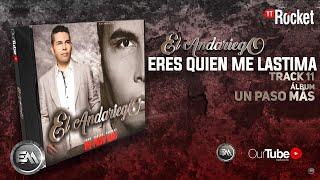 11. Eres Quien Me Lastima - El Andariego - Con Letra [Musica Popular]