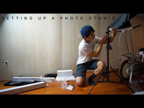 How to Set Up Your Own Photo Studio! | On a Budget