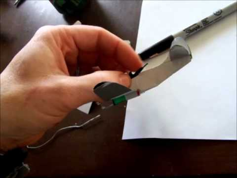 How to make a plane from aluminum cans