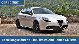 Essai longue durée : 3 000 km en Alfa Romeo Giulietta : mamie fait de la résistance