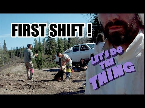 First Shift Planting Trees!