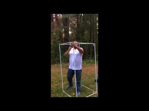 Unit Farm 3x3x6 Grow Tent Assembly
