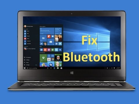 *Fix Windows 10 bluetooth Problem!!