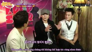 [BBVN][Vietsub] One Night of TV Entertainment YG and JYP Interview [07.09.11]