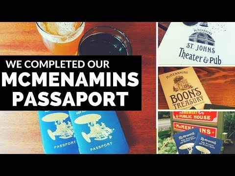 McMenamins Passports Completed Vlogmas Day 4 | Diana Kitsune