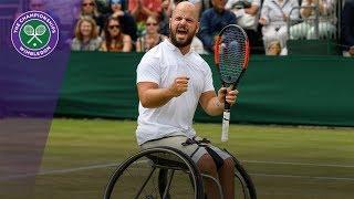Stefan Olsson victorious in Wimbledon 2017 gentlemen