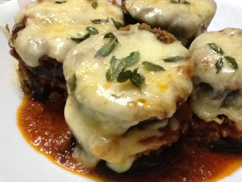 Eggplant Parmesan Baked Quick And Easy Supersimplekitchen Recipe