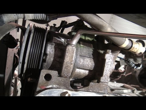 How to remove AC compressor Toyota Corolla. Years 2008 to 2018