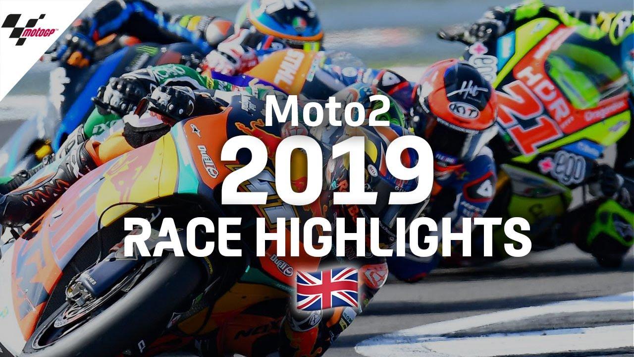 2019 #BritishGP | Moto2 Race Highlights