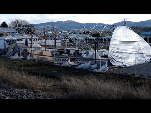 Spokane WindStorm 2015 Hurricane strength winds hit the Inland Northwest