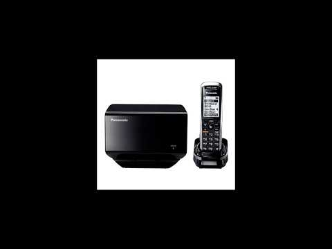 Panasonic KX-TGP500 VOIP RingCentral Setup - Cordless VOIP Phone - Wireless IP Phone