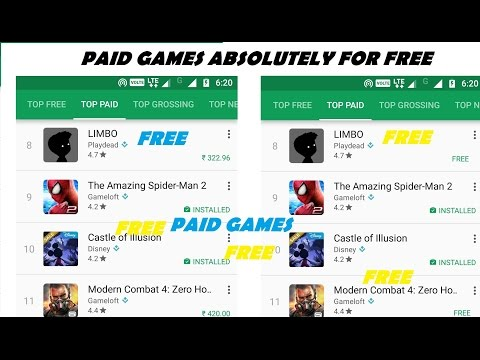 Download Any Paid Games For Free On Android! No Root Required 2017 Easy Method