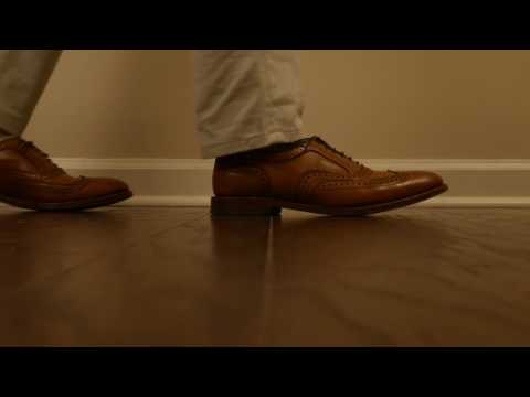 Walking In Leather - Shoe Tips Episode 01