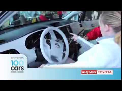 Andy Mohr Toyota - 100 Cars for Good - The ARC of Greater Boone County
