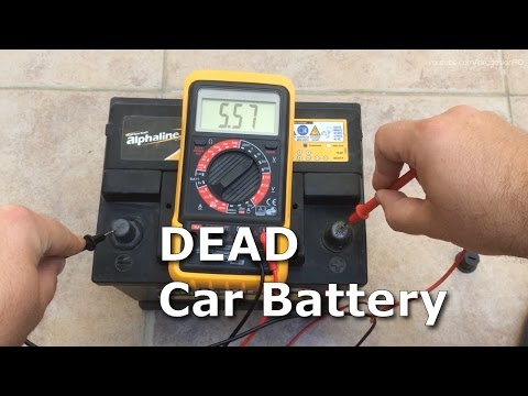 Dead 12V Car Battery Recovery Recharge & Revive From 5V