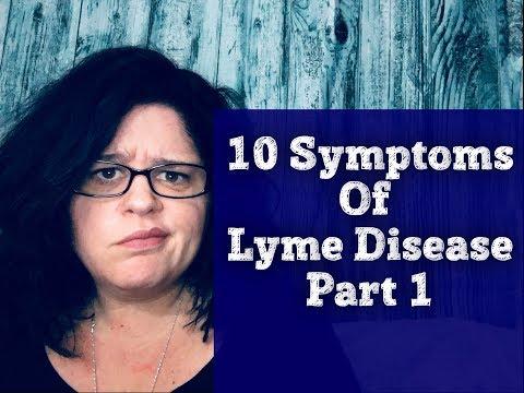 Lyme Disease & Chronic Lyme Disease 10 Symptoms Part 1 Including TMJ, Mid Back Pain& Neck Pain
