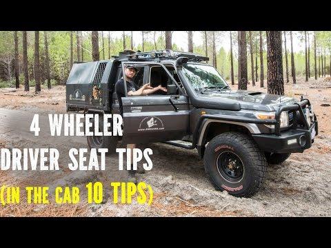 4 Wheeler Driver Seat Tips