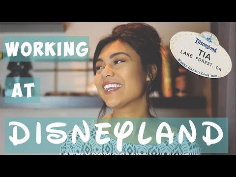 WORKING AT DISNEYLAND!