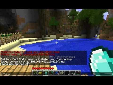 Minecraft 1.7.3 Single player command mod