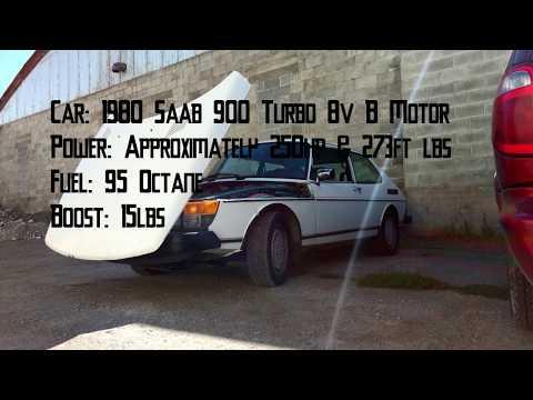 1980 Saab 900 Turbo Pulls (0-80mph, 40-105mph)