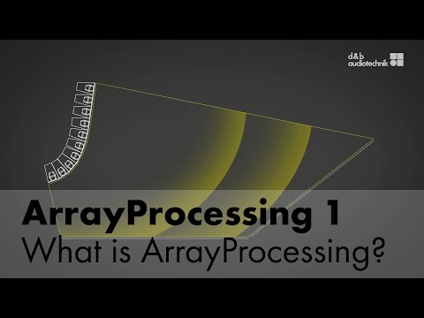 ArrayProcessing - What is ArrayProcessing?