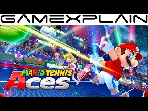 Dataminers Reveal Full Mario Tennis Aces Character Roster & Boss List!