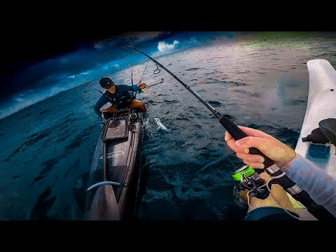 CRAZY Weather Trolling for Tuna!!