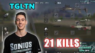Soniqs TGLTN - 21 KILLS - MK14 + AWM - SOLO - Archive Games - PUBG
