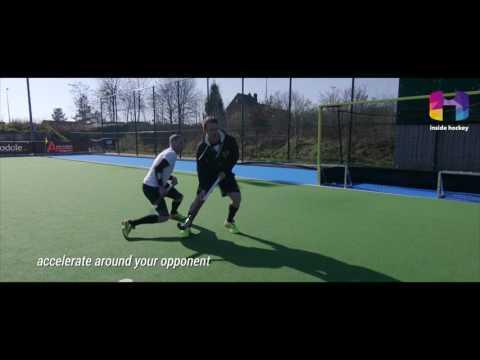 Inside Hockey Skill: One-time sweep hit