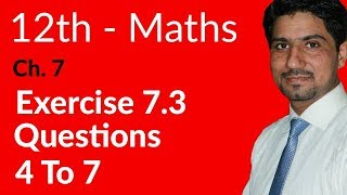Exercise 5 1 Question 5(i) F Sc Second year mathematics