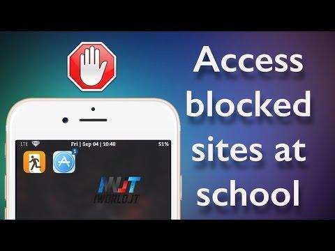 How to access BLOCKED Websites on School Wi-Fi iPhone, iPad iOS 8.3/8.4