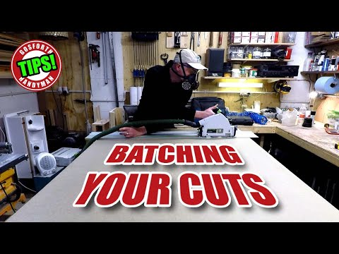 BATCHING UP Your Sheet Timber Cuts - Prepare, Prepare & Prepare! - GHTL#21 [125]