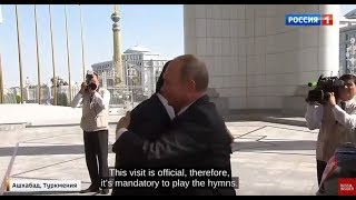 Putin Visits Turkmenistan and Gets Royal Welcome By An Old Ally in Central Asia