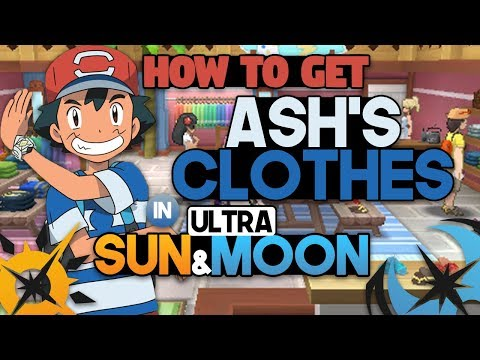 HOW TO DRESS LIKE ASH IN POKEMON ULTRA SUN AND ULTRA MOON! CLOTHES GUIDE!
