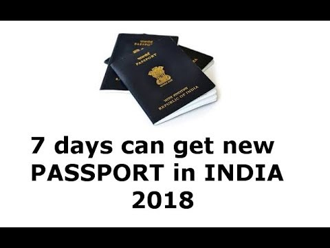 how to apply passport within 7 days || get passport new rule in india 2018