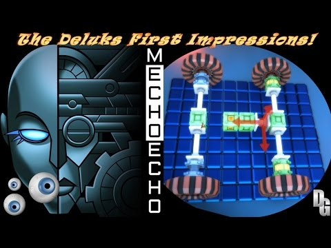 MechoEcho ► The Deluks First Impressions! - Ethereal and Atmospheric Robot Builder!