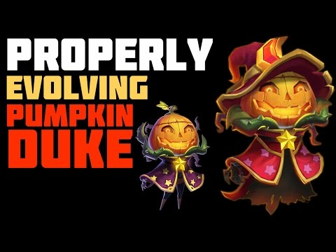 Castle Clash: Properly Evolving Pumpkin Duke (and other heroes)