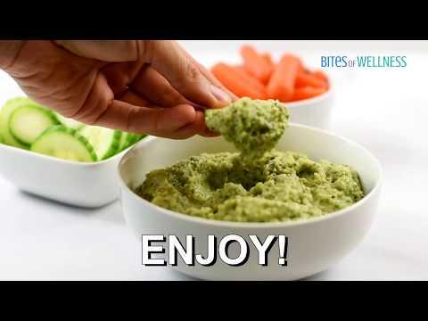Paleo Avocado Zucchini Hummus Recipe